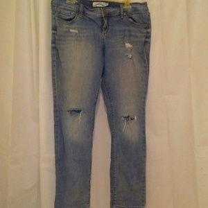 Torrid distressed boyfriend jeans